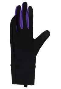 Nike Performance - LIGHTWEIGHT TECH GLOVES - Rękawiczki pięciopalcowe - black/psychic purple/silver - 3