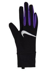 Nike Performance - LIGHTWEIGHT TECH GLOVES - Rękawiczki pięciopalcowe - black/psychic purple/silver - 2