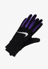 Nike Performance - LIGHTWEIGHT TECH GLOVES - Hansker - black/psychic purple/silver - 1