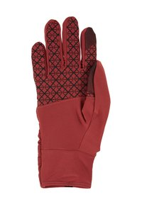 Nike Performance - WOMENS QUILTED RUN GLOVES  - Guantes - cedar/silver - 3