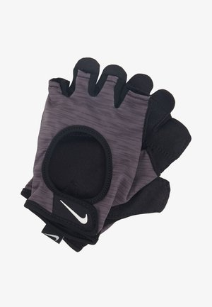 GYM ULTIMATE GLOVES - Kurzfingerhandschuh - dark grey/black/white