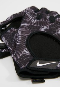 Nike Performance - GYM ULTIMATE GLOVES - Fingerless gloves - black/anthracite/storm pink - 4