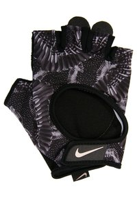 Nike Performance - GYM ULTIMATE GLOVES - Fingerless gloves - black/anthracite/storm pink - 2