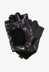 Nike Performance - GYM ULTIMATE GLOVES - Fingerless gloves - black/anthracite/storm pink - 1