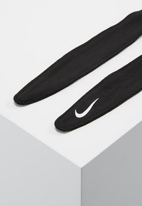 Nike Performance - BANDANA HEAD TIE - Headscarf - black/white