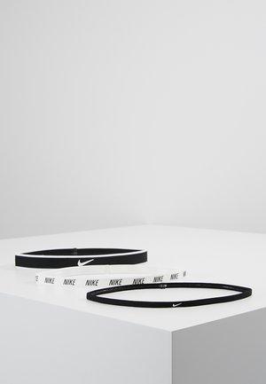 MIXED HEADBANDS 3 PACK - Accessorio - black/white