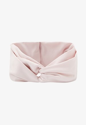 TWIST KNOT HEADBAND - Ørevarmere - barely rose/black/white