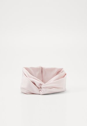 TWIST KNOT HEADBAND - Oorwarmers - barely rose/black/white