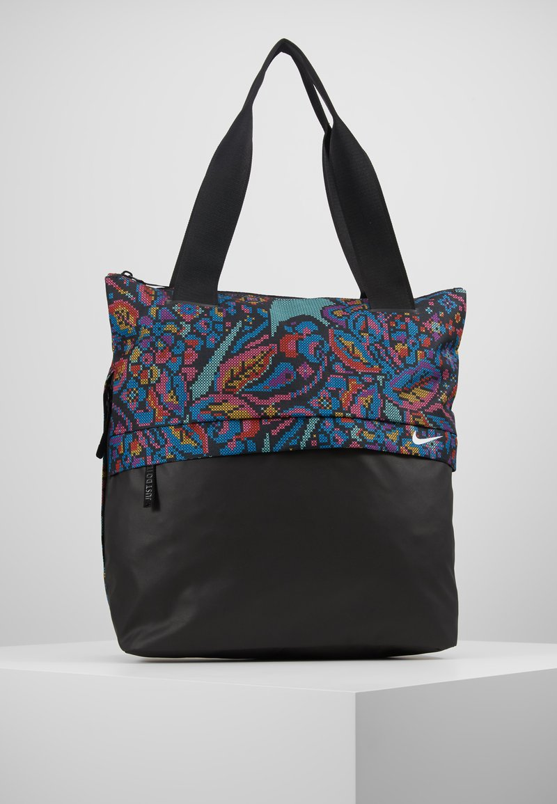 Nike Performance - RADIATE TOTE  - Sports bag - black/white