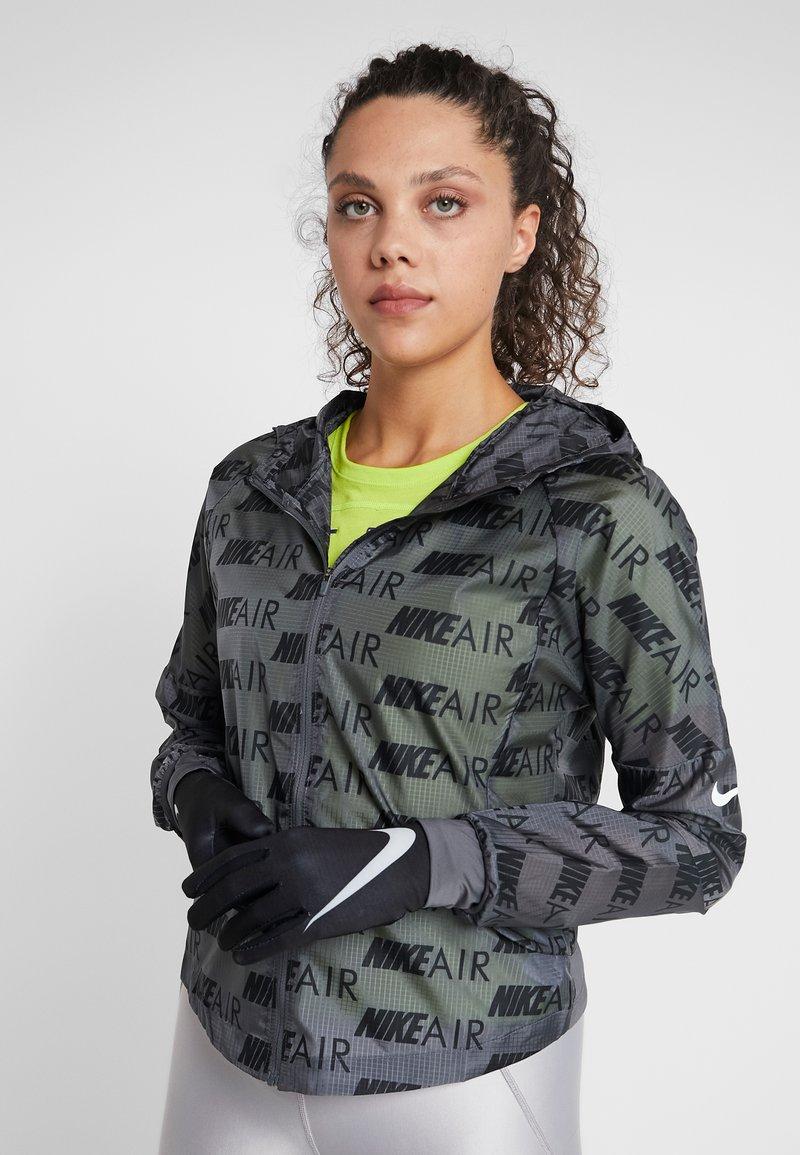 Nike Performance - WOMEN'S BASE LAYER GLOVES - Fingerhandschuh - black/pure platinum