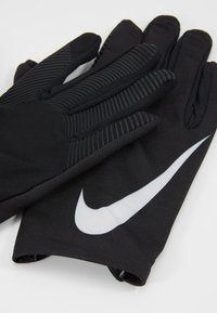Nike Performance - WOMEN'S BASE LAYER GLOVES - Guantes - black/pure platinum - 4