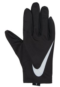 Nike Performance - WOMEN'S BASE LAYER GLOVES - Guantes - black/pure platinum - 2