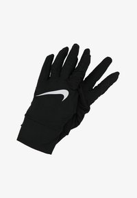 Nike Performance - NIKE WOMENS DRY RUNNING GLOVES - Guantes - black/silver - 1