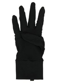 Nike Performance - NIKE WOMENS DRY RUNNING GLOVES - Guantes - black/silver - 3