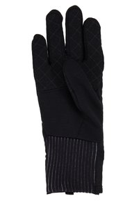 Nike Performance - WOMENSSPHERE RUNNING GLOVES - Fingervantar - black/silver - 5