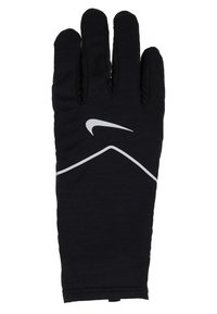 Nike Performance - WOMENSSPHERE RUNNING GLOVES - Fingervantar - black/silver - 4