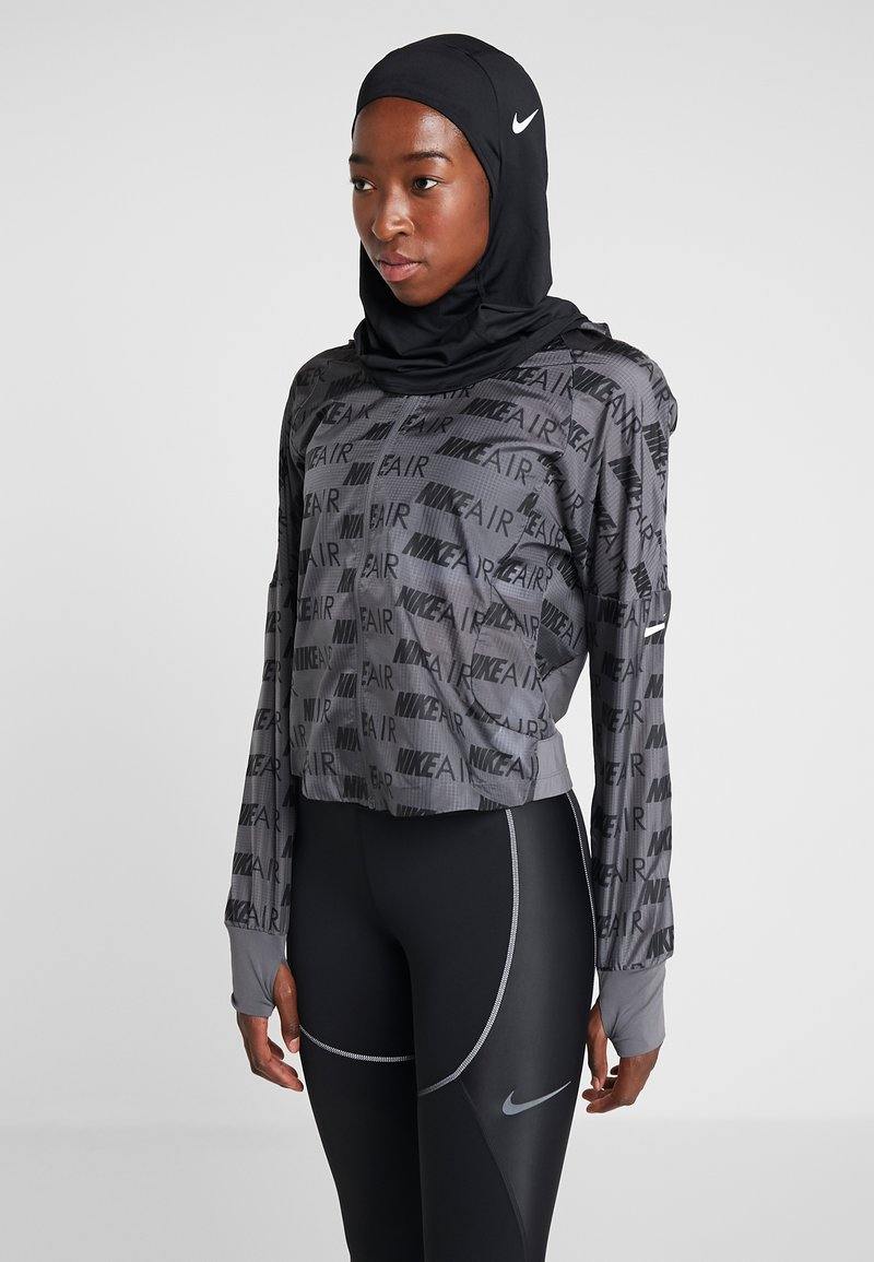 Nike Performance - PRO HIJAB - Lue - black/white