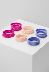 Nike Performance - NIKE SEAMLESS HAIRBANDS 6 PACK - Accessoires - Overig - diffused blue/barely rose/pollen rise - 0