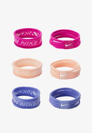 NIKE SEAMLESS HAIRBANDS 6 PACK - Other - diffused blue/barely rose/pollen rise