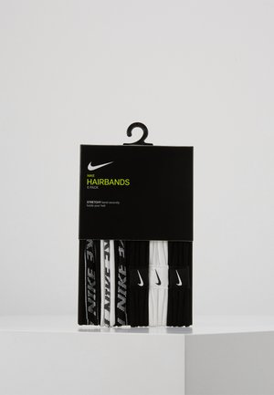 NIKE SEAMLESS HAIRBANDS 6 PACK - Other - black/white/black