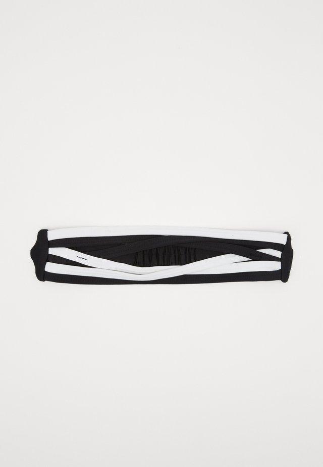 STRAPPY HEADBAND - Ohrenwärmer - black/white/white