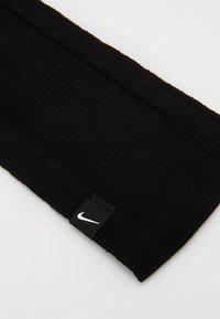 Nike Performance - SEAMLESS HEADBAND - Ear warmers - black/black/white - 2