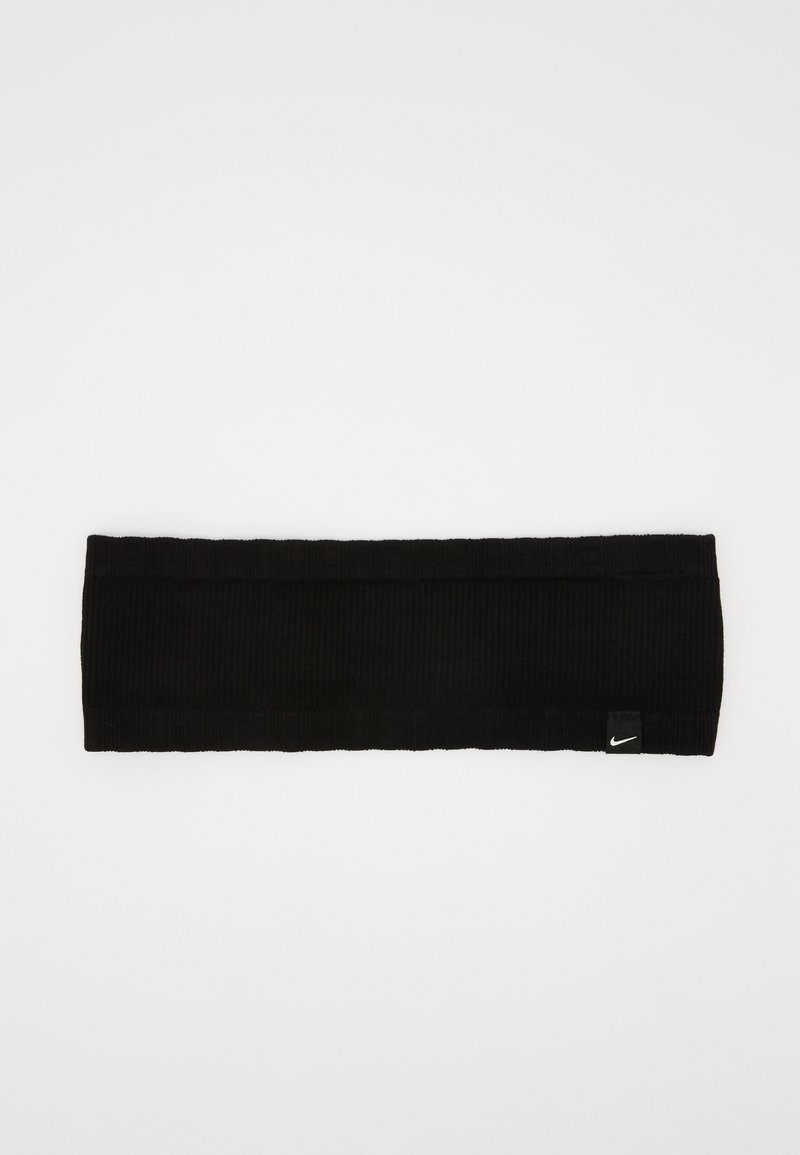 Nike Performance - SEAMLESS HEADBAND - Oorwarmers - black/black/white