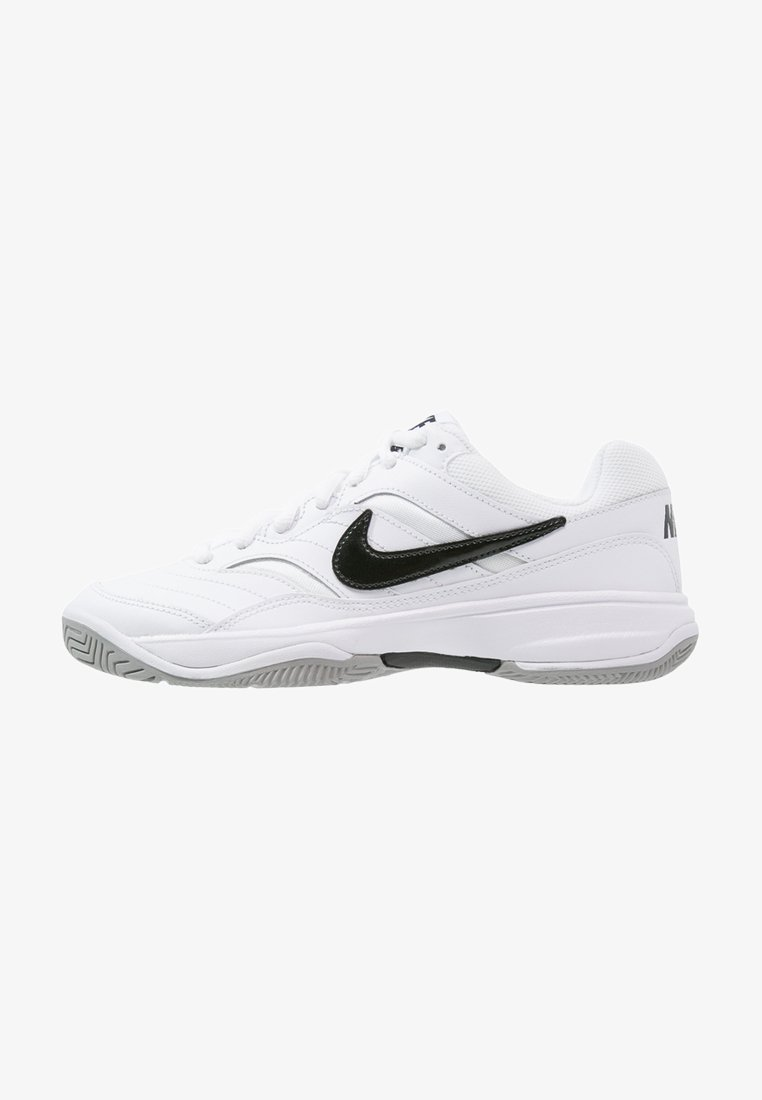 Nike Performance - COURT LITE - Buty tenisowe uniwersalne - white/black/medium grey