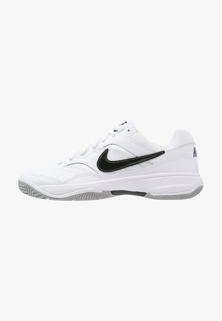 Nike Performance - COURT LITE - Multicourt tennis shoes - white/black/medium grey