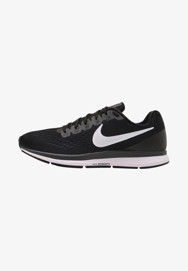 Nike Performance - AIR ZOOM PEGASUS 34 - Laufschuh Neutral - black/white/dark grey/anthracite