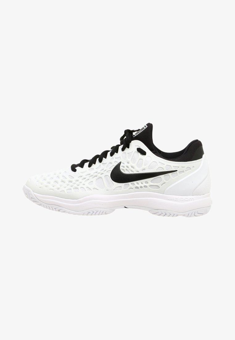 Nike Performance - AIR ZOOM CAGE 3 HC - Tennisschuh für Sandplätze - white/black
