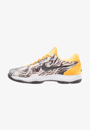 AIR ZOOM CAGE - Zapatillas de tenis para tierra batida - pure platinum/thunder grey/laser orange/white