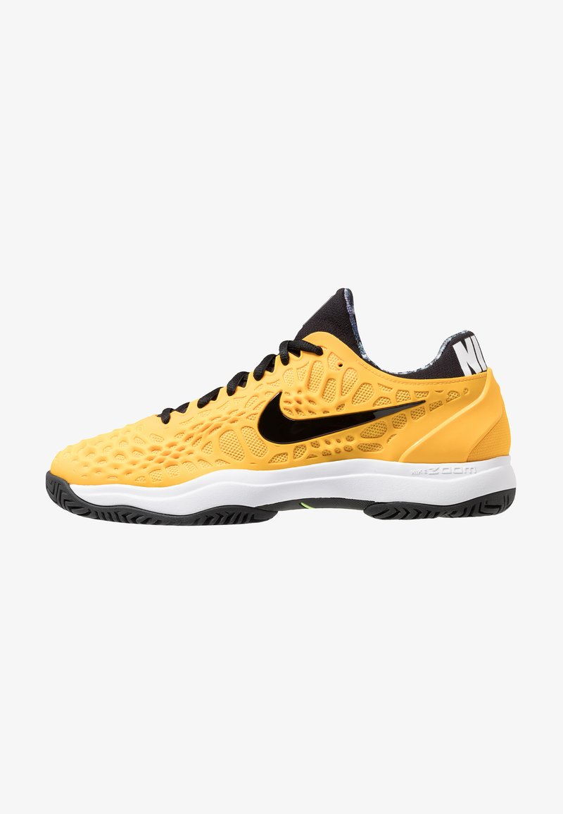 Nike Performance - AIR ZOOM CAGE 3 HC - Clay court tennis shoes - university gold/black/white/volt glow