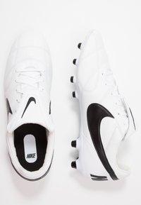 Nike Performance - PREMIER II FG - Voetbalschoenen met kunststof noppen - white/black - 1