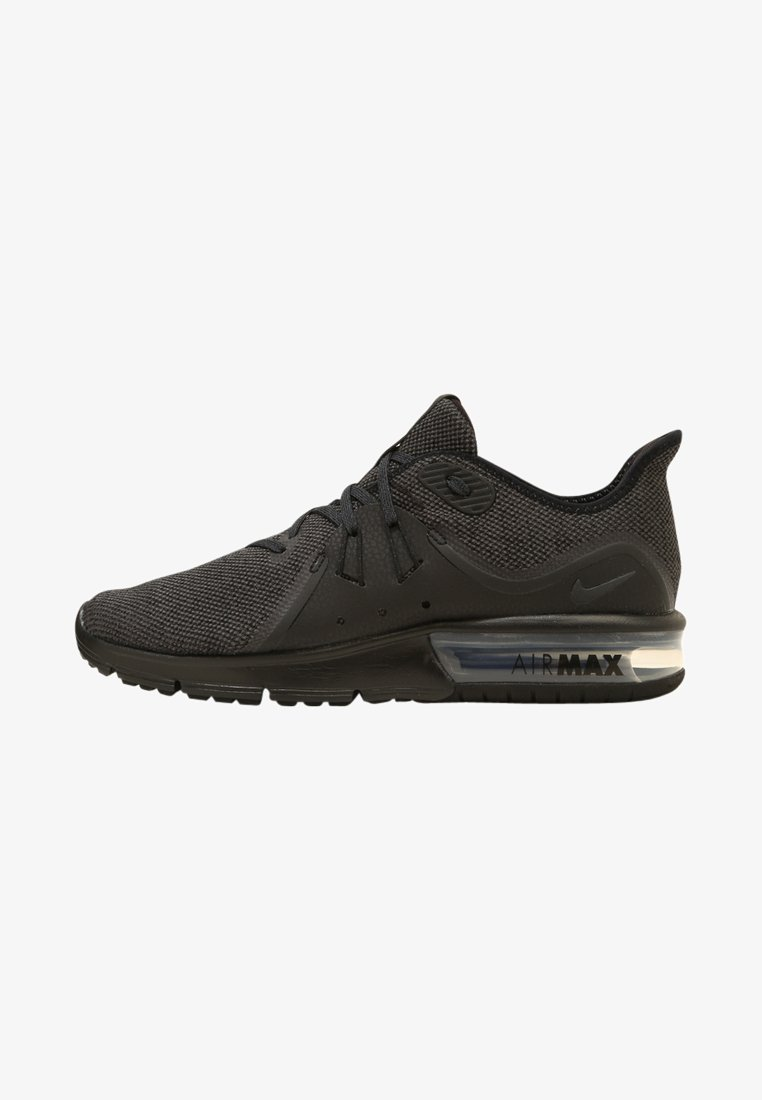 Nike Performance - AIR MAX SEQUENT 3 - Neutral running shoes - black/anthracite