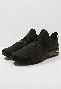 Nike Performance - AIR MAX SEQUENT 3 - Neutrala löparskor - black/anthracite - 2
