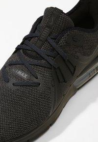 Nike Performance - AIR MAX SEQUENT 3 - Neutrala löparskor - black/anthracite - 5