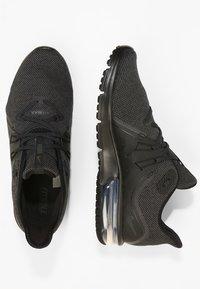 Nike Performance - AIR MAX SEQUENT 3 - Neutrala löparskor - black/anthracite - 1