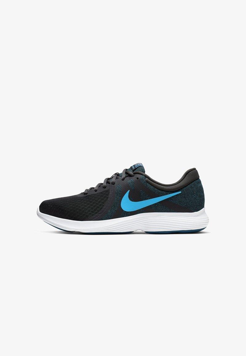 Nike Performance - REVOLUTION - Trail running shoes - dark grey/blue/light blue