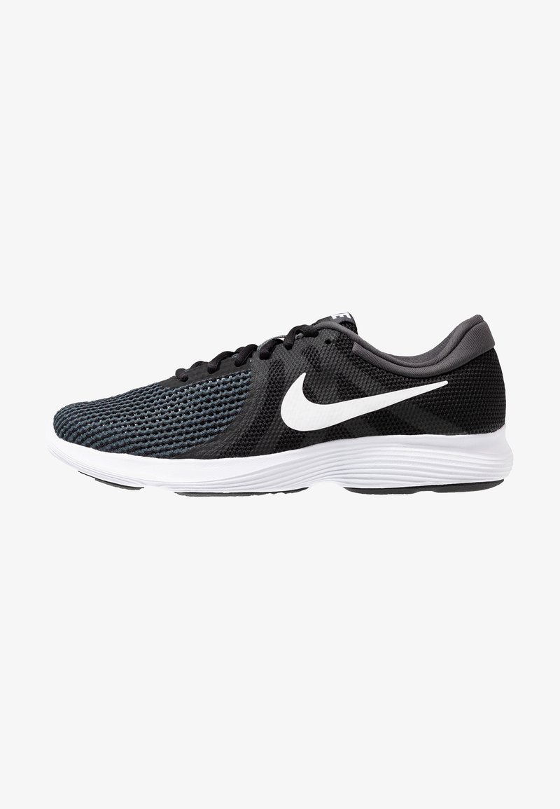 Nike Performance - REVOLUTION 4 EU - Sports shoes - black/white/antracite