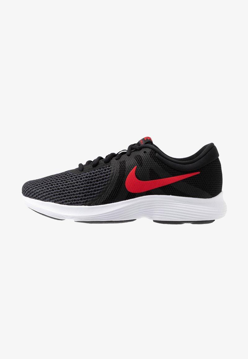 Nike Performance - REVOLUTION - Gym- & träningskor - black/university red/oil grey/white