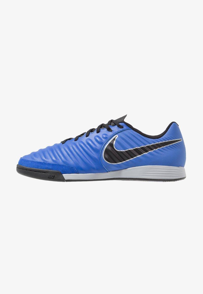 Nike Performance - TIEMPO LEGENDX 7 ACADEMY IC - Fußballschuh Halle - racer blue/black/metallic silver