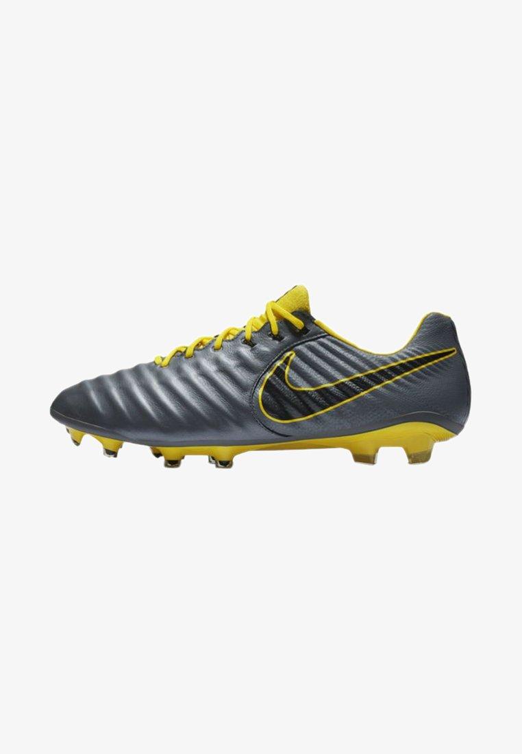 Nike Performance - TIEMPO LEGEND 7 ELITE FG - Fußballschuh Nocken - dark grey/black/yellow