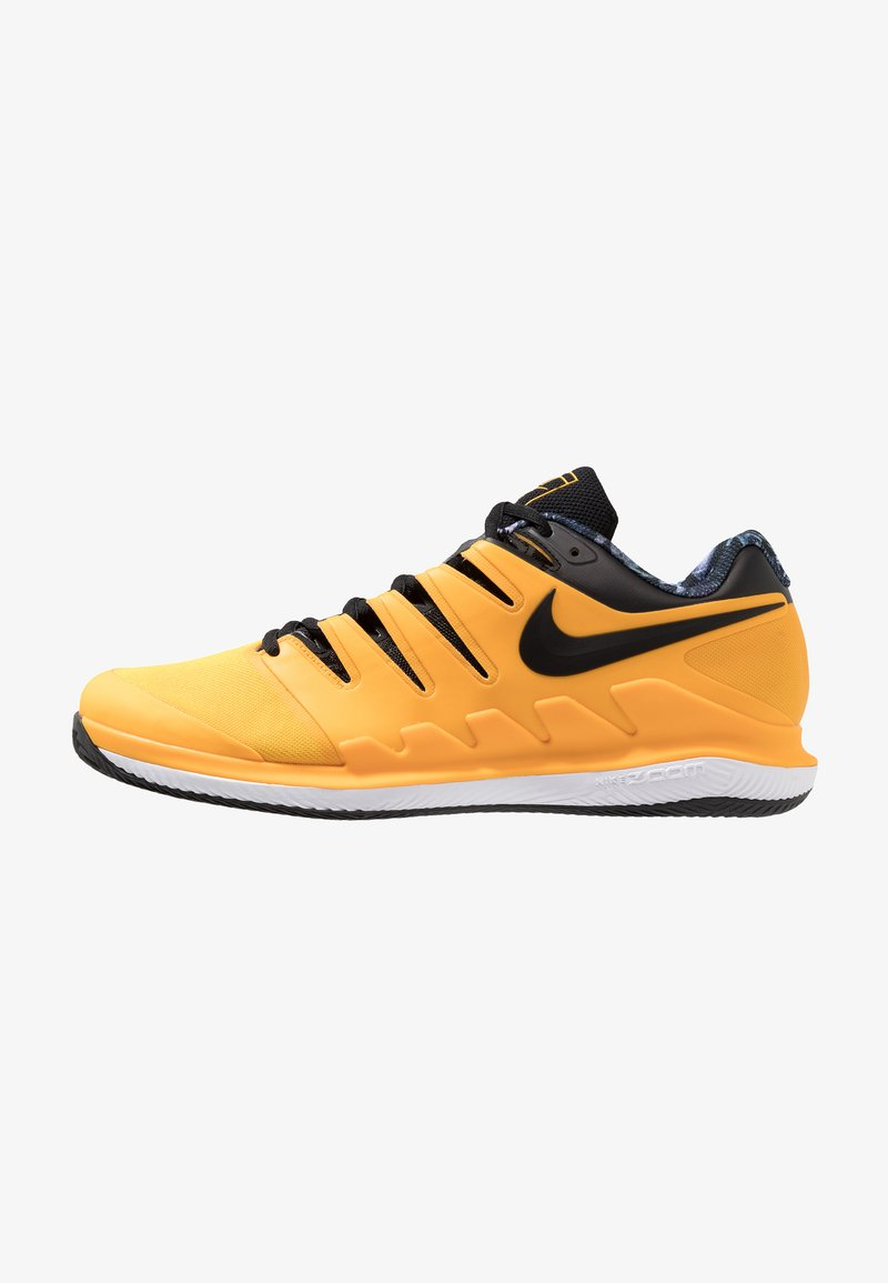 Nike Performance - AIR ZOOM VAPOR X CLAY - Clay court tennis shoes - university gold/black/white/volt glow