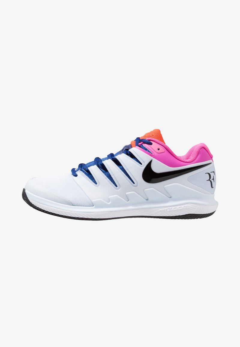 Nike Performance - AIR ZOOM VAPOR X CLAY - Tennisschuh für Sandplätze - half blue/black/white/laser fuchsia/bright crimson/indigo force