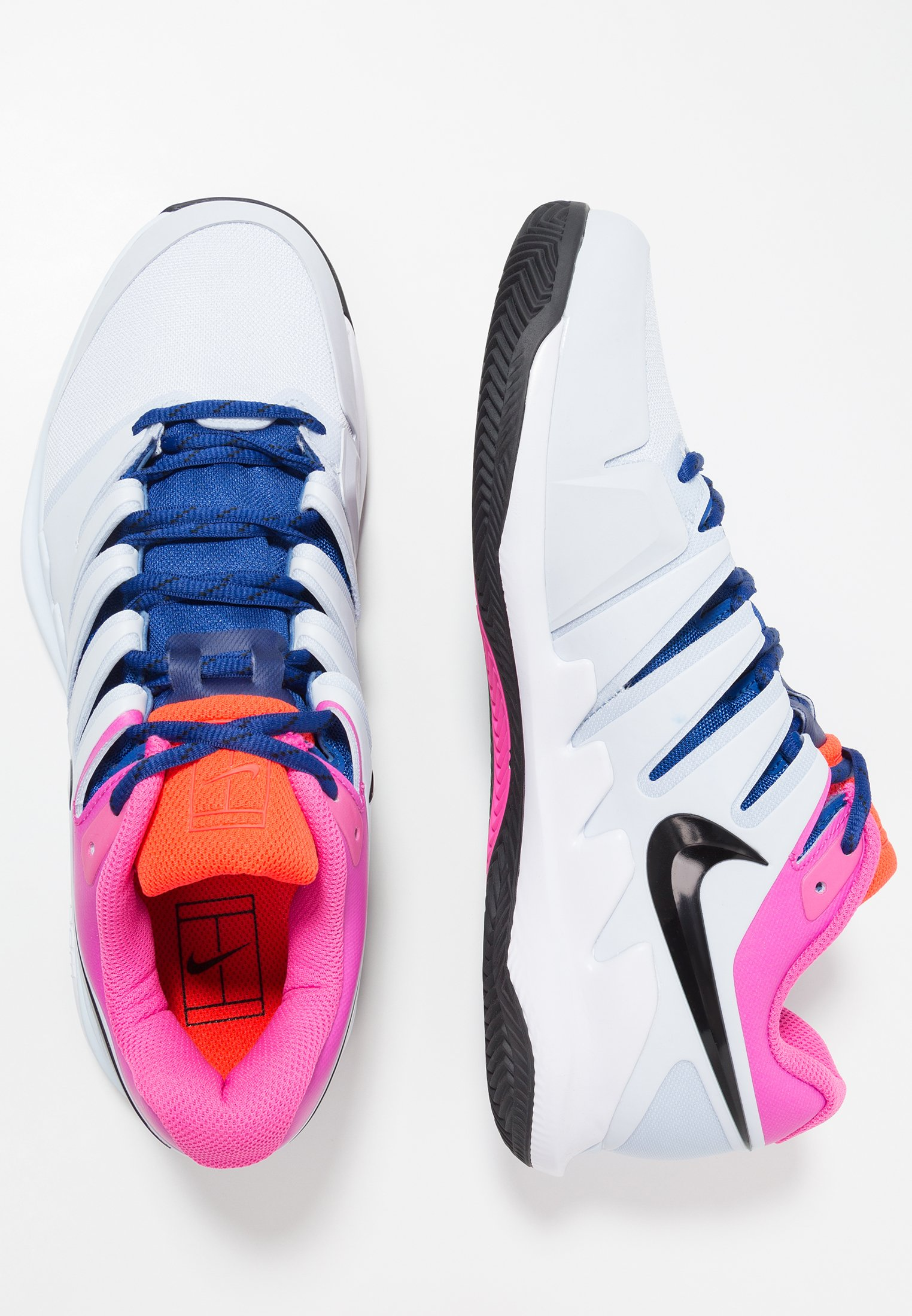 AIR ZOOM VAPOR X CLAY SHOE Chaussures de tennis pour terre battueerre battue half blueblackwhitelaser fuchsiabright crimsonindigo force