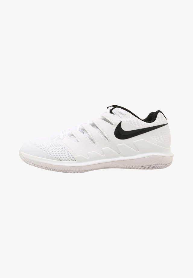 AIR ZOOM VAPOR X - Buty tenisowe uniwersalne - white/black vast/grey summit white