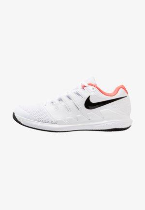 AIR ZOOM VAPOR X - All court tennisskor - white/black/bright crimson
