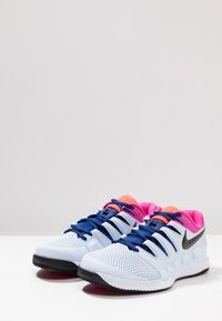 Nike Performance - AIR ZOOM VAPOR X - All court tennisskor - half blue/black/white/laser fuchsia/bright crimson/indigo force - 2