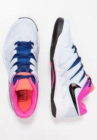 Nike Performance - AIR ZOOM VAPOR X - All court tennisskor - half blue/black/white/laser fuchsia/bright crimson/indigo force - 1